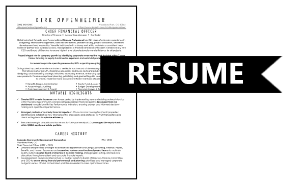 Resume Package Picture