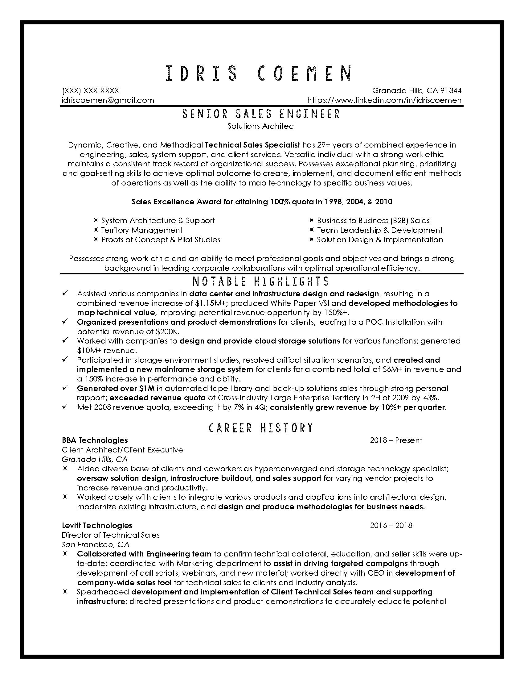 Senior Sales Engineer Sample_Page_1